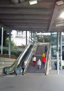 Val d' Europe駅