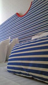 ボーダー枕