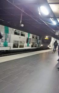 Auber駅 RER🚉