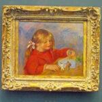 『おもちゃで遊ぶクロード・ルノワール』(1905年)